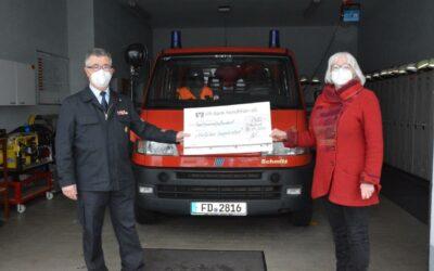 Nikolaus sammelt Spenden
